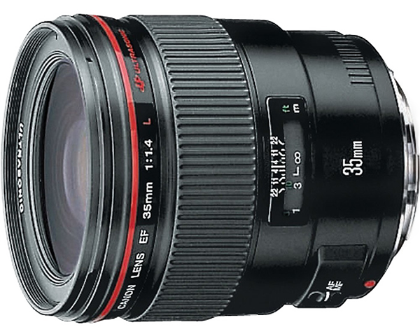 Canon 35mm f1 4