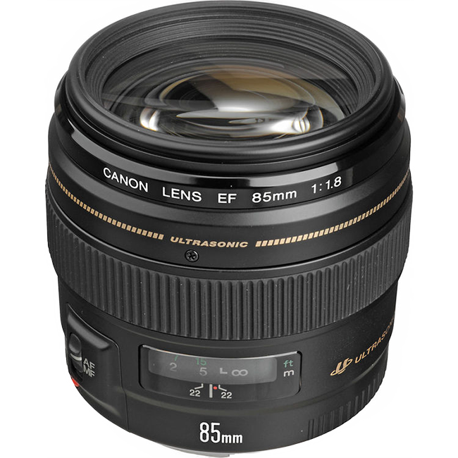 Canon 85mm f18