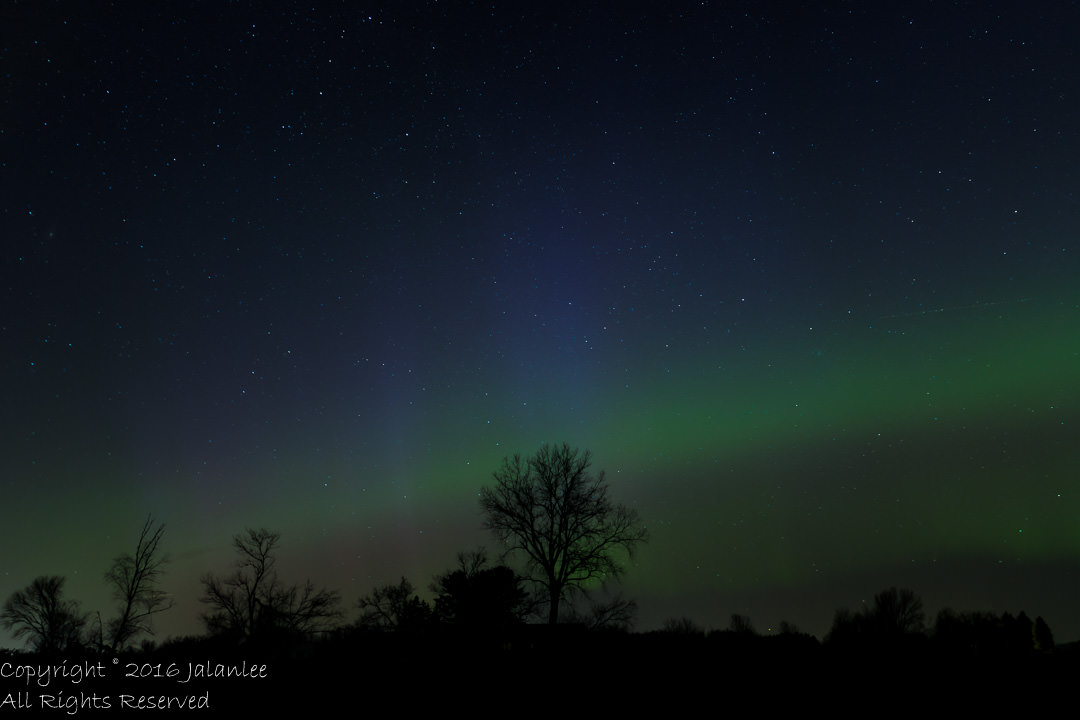 Northern Lights in Wisconsin-2