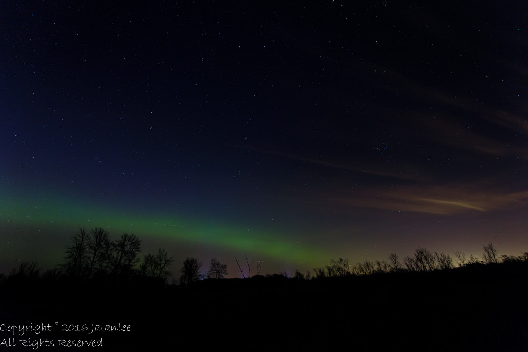 Northern Lights in Wisconsin