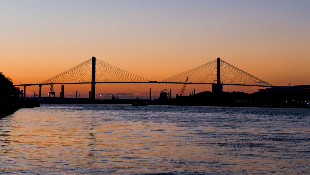 Heading to Savannah (Sunset)
